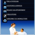 Barnabas Health Mobile Website
